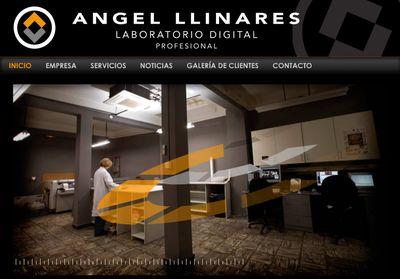 Nueva web de Angel Llinares - Laboratorio Fotográfico Profesional