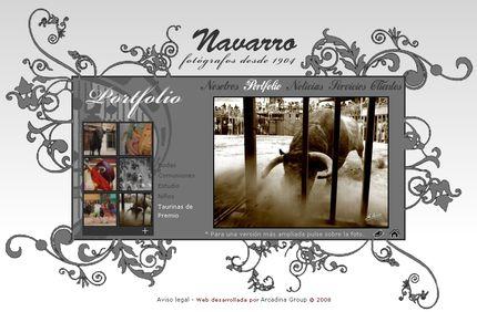 Nueva web de Navarro Fotografos - Burriana