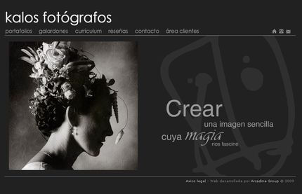 Nueva web de Belen Caballero - Kalos Fotógrafos
