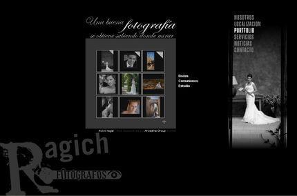 Nueva web de Ragich Fotógrafos - Caceres
