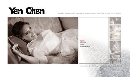Nueva web de Yen Chen