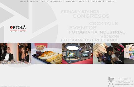 Web de Fotografía Ortolá