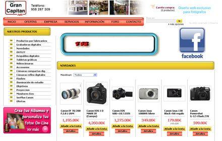 Nueva web de FotoGranCapitan