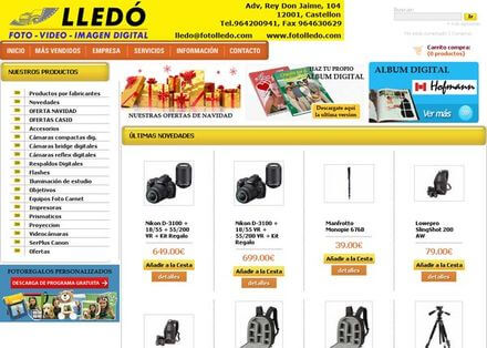 Nueva web de FotoLledó