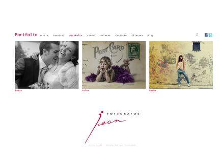 Nueva Web de Jean Fotógrafos