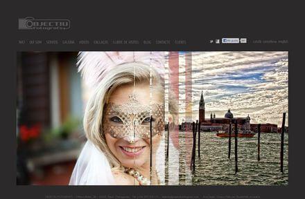 Nueva Web de Objectiu Fotógrafs