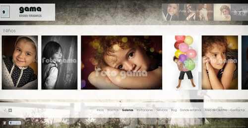 Nueva web de FotoGama