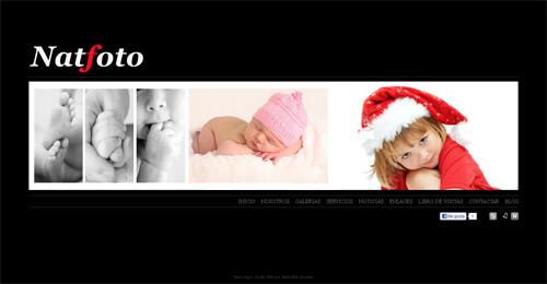 Nueva web de NatFoto