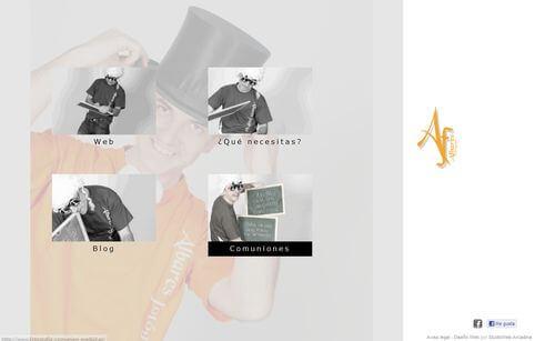 Nueva web de Albarés Fotógrafos