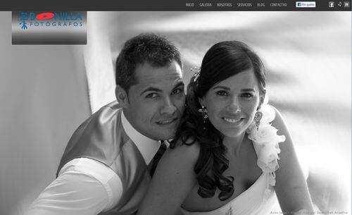 Nueva web de Bonilla Fotógrafos