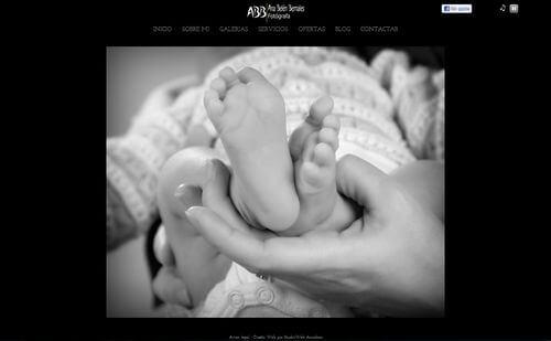 Nueva web de Ana Belén Bernales