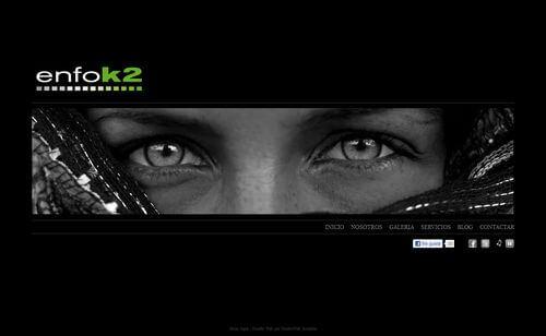 nueva web de Enfok2