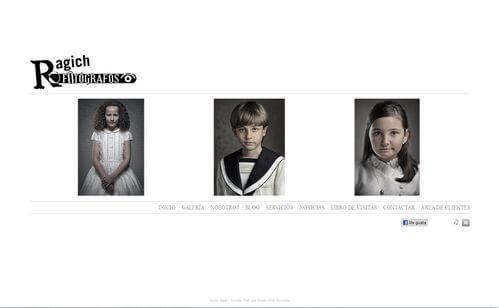 Nueva web de Foto Ragich