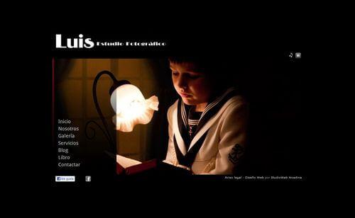 Nueva web de Luis Fotografo