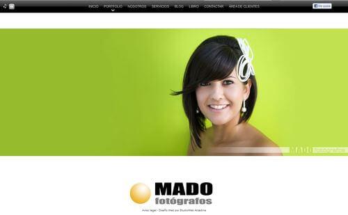 Nueva web de Mado Fotógrafos