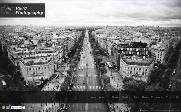 Nueva web de P&MPhotography