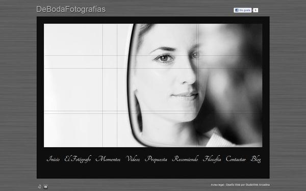 Nueva web de DeBodaFotografías