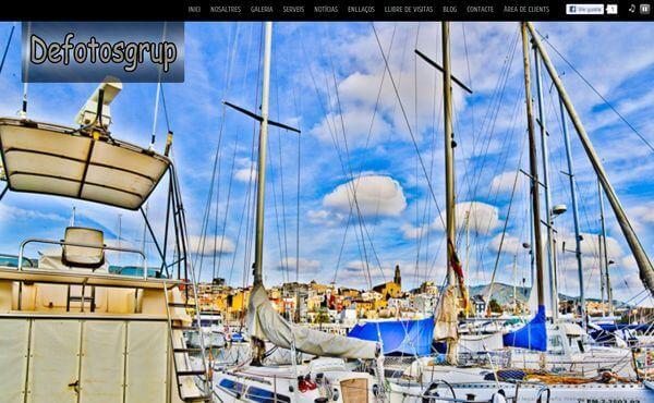 Nueva web de DeFotosGrup