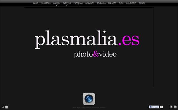 Nueva web de Plasmalia.es