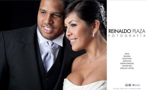 Nueva web de Reinaldo Plaza Fotografía