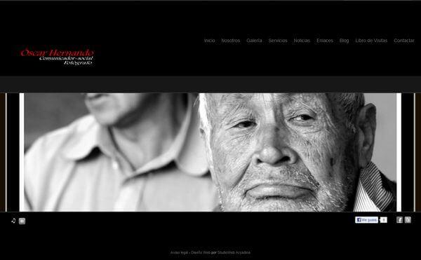 Nueva web de Oscar Hernando