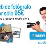 Renueva tu web de fotógrafo por sólo 95€