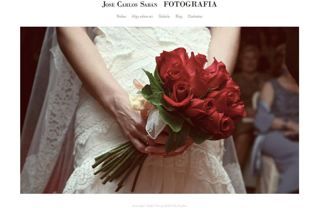 Nueva web de Jose Carlos Sabán, www.jcsabanfotografia.com