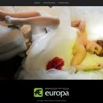 Foto Europa, una web para un estudio de fotografía
