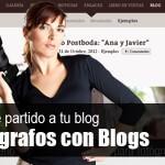 Fotógrafos que ya le sacan partido a los nuevos blogs