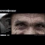Web de Reporter Academy, especializada en cursos periodísticos para fotógrafos