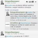 Diego Márquez consigue en su blog de fotografia 11000 visitas