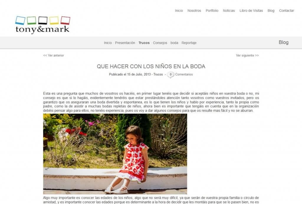 Tonyandmark.com