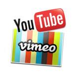 Añade vídeos en tu web de Youtube y Vimeo
