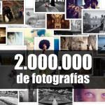 Arcadina alcanza los 2 millones de fotografías