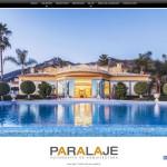 Paralaje, una web de fotografía y video, especializada en arquitectura