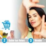 Vende tus fotos, productos y servicios