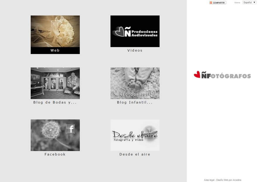 ÑFotografos-web