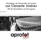 Colaboramos con el taller de bodas de AProfot, Workshop con Clemente Jimenez