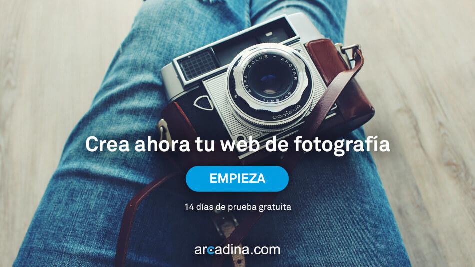 Crear una web de fotografía profesional