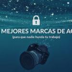 Las marcas de agua más utilizadas por fotógrafos 🌊
