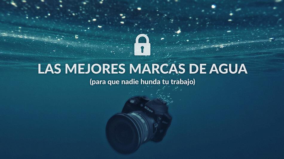 Las mejores marcas de agua utilizadas por fotógrafos