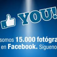 Ya somos + de 15000 fotógrafos en facebook