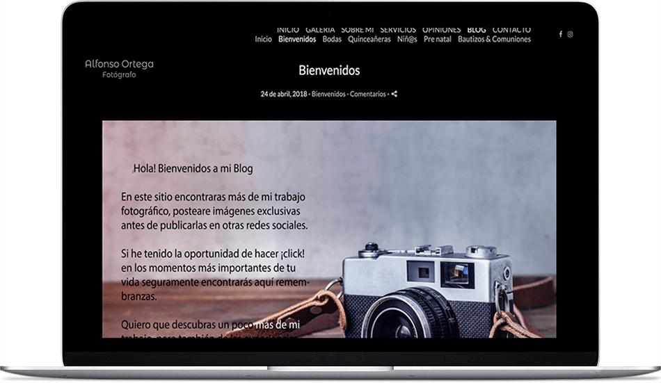 Il primo passo nella creazione di un blog per i fotografi sarà quello di presentarsi