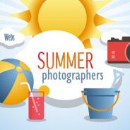 Summer photographers. Fotógrafos renuevan su web en verano