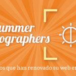 Summer photographers, fotógrafos que aprovechan el verano para renovar su web