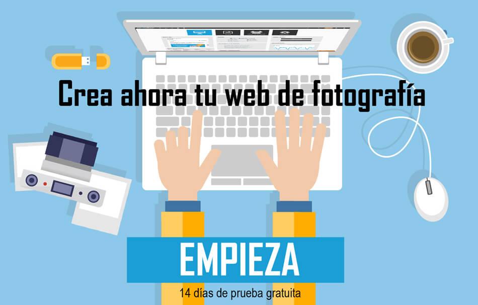 Crea ahora tu nueva web de fotografía