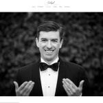 Carlos GB fotógrafo de bodas, publica un anuncio navideño en portada