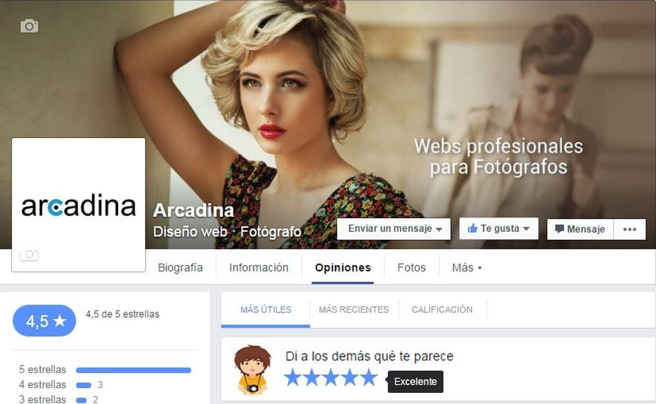 Facebook5estrellas