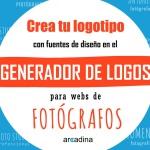 Crea tu logotipo con el generador de logos para fotógrafos