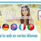 Crea tu web de fotógrafo en varios idiomas